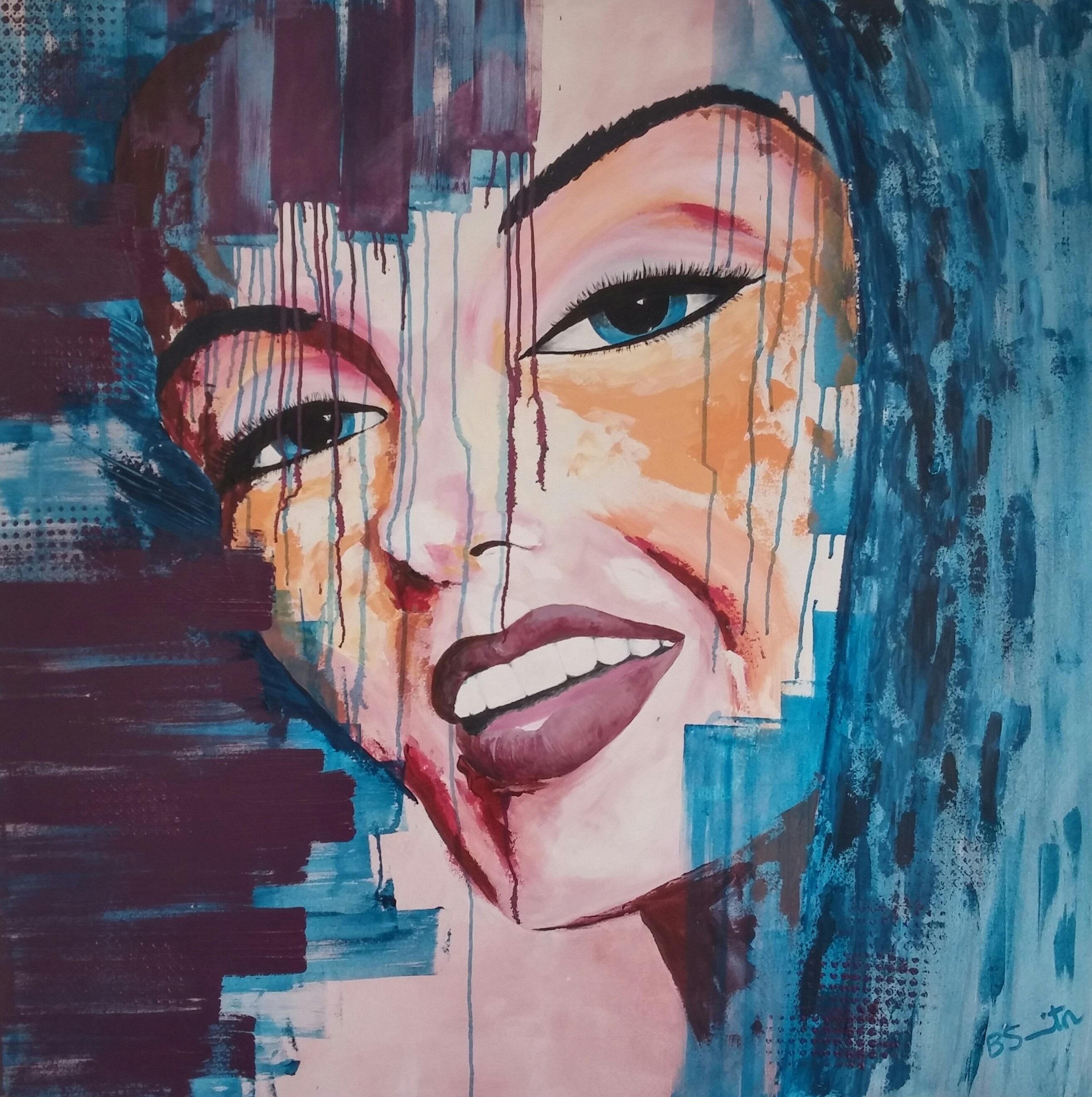 Marilyn abstract